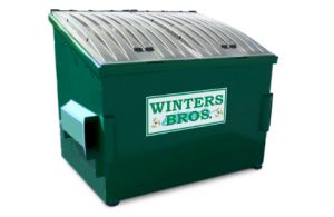 4 yard dumpster container
