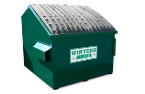 8 yard dumpster container