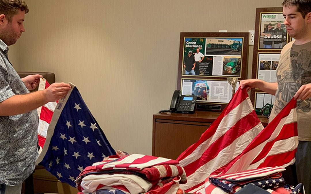 Winters Bros.: Retire Worn U.S. Flags with Respect, Not in the Trash